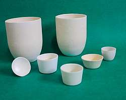 Empresas de cadinho de cerâmica