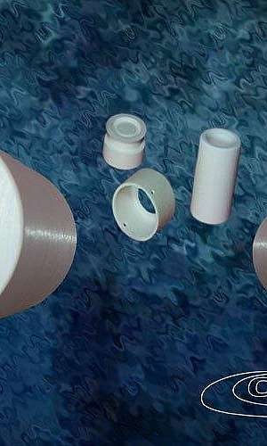 Bucha cerâmica