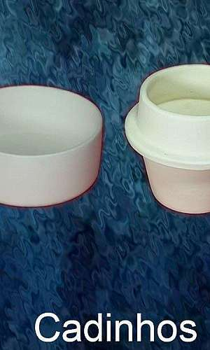 Cadinho cerâmica