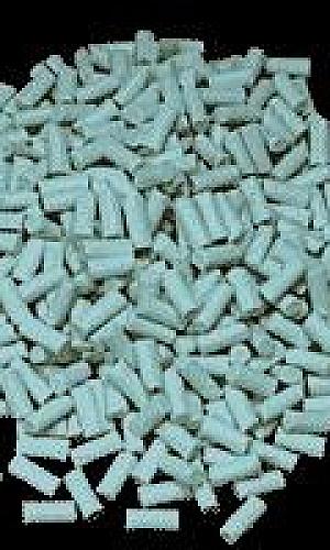 Chips ceramicos abrasivos