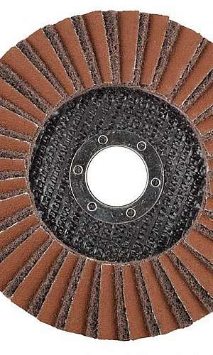 Disco de polimento para inox