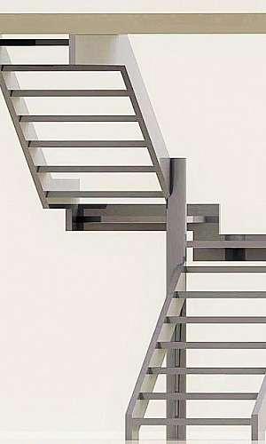 Escada em leque