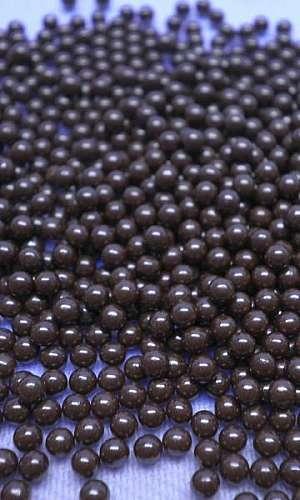 Esferas de óxido de zircônio