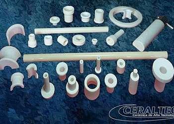 Industria guia fio de cerâmica