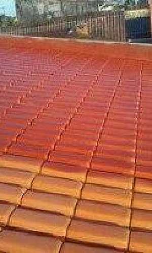 Impermeabilização de telhado cerâmico