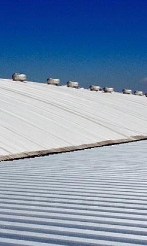 Membrana para telhado colonial