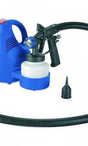 Pistola pulverizadora elétrica para pintura