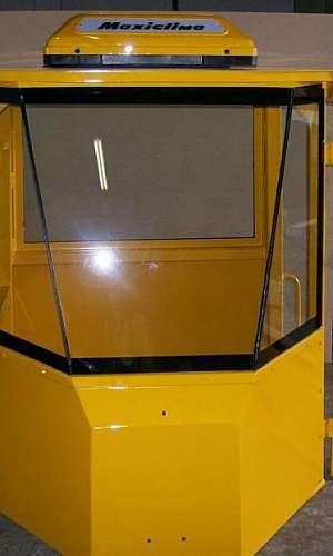 Vidros para máquinas agrícolas